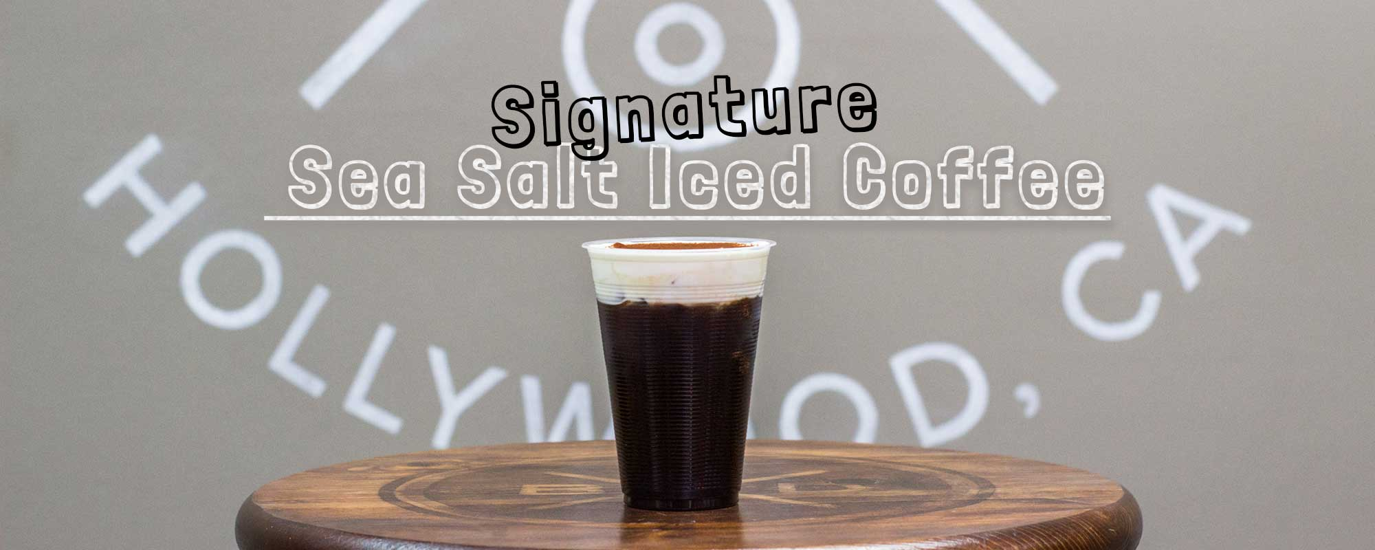 Signature Sea Salt Iced Coffee
