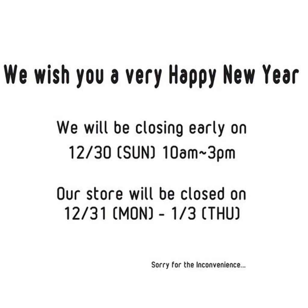 RING Donuts New Years Business Hours